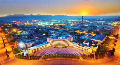 霞光映新城-美丽平谷